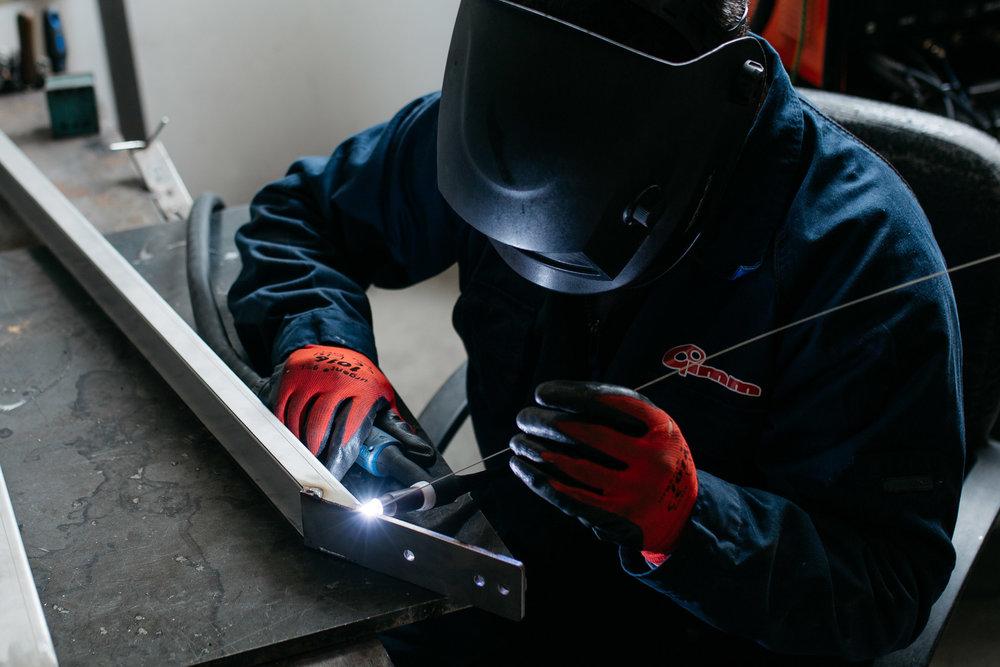 Inox welding. - Inox hegesztés.