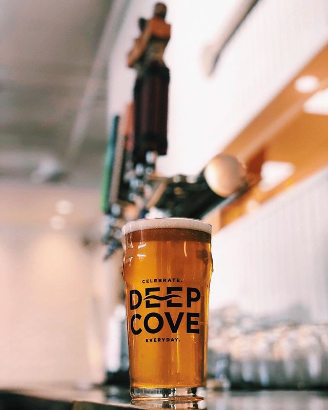 Celebrate a St. Patrick's Day with a Lager from @deepcovecraft. We have Pale Ale and IPA on tap as well!