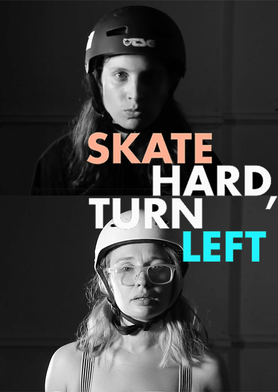 Yasmin Zadeh and Lucy Bairstow in  Skate Hard, Turn Left  @ Battersea Arts Centre 9-13 October.  Tickets  here .