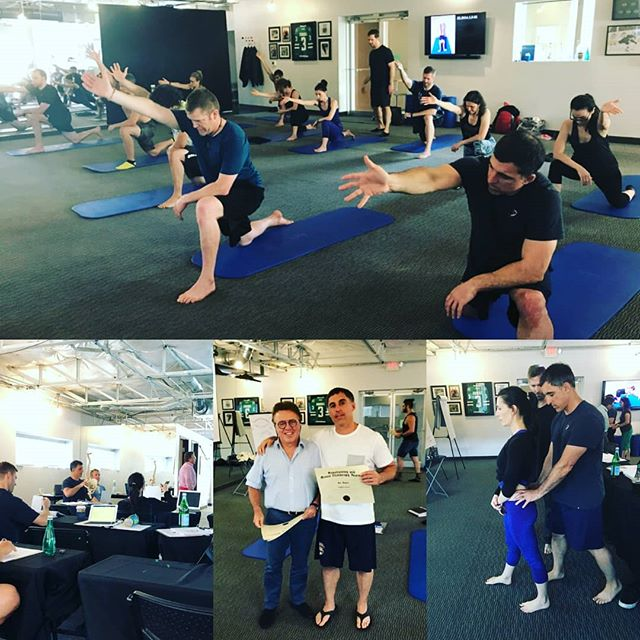 New England Eldoa Senior Instructor, Joe Hayes, recently in Dallas attending and successfully completing ELDOA Level Course hosted by @legacyeldoa #eldoa #eldoamethod #spinehealth