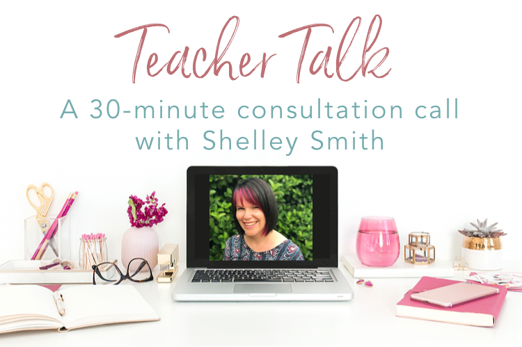 Teacher Talk - online teaching consultation call with Shelley Smith