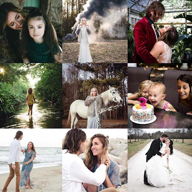 Looks like y'all love some @shearandthesparrow 😂. We had a great year and have some exciting things in store for 2019!  Can't wait to meet all our new clients in the next year! . . . . . #topnine #topnine2018 #topnineinstagram #ncfamilyphotographer #ncweddingphotographer #childphotographer #wilmingtonnc #wilmingtonncphotographer
