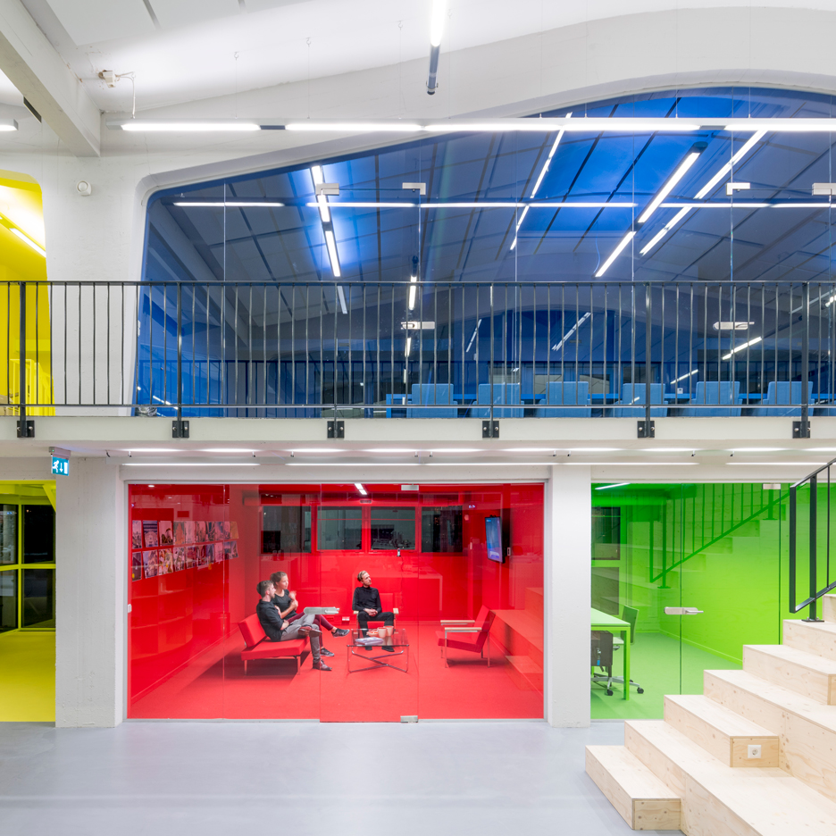 ''MVRD's office in Rotterdam, the Netherlands'' – photo Dezeen.com