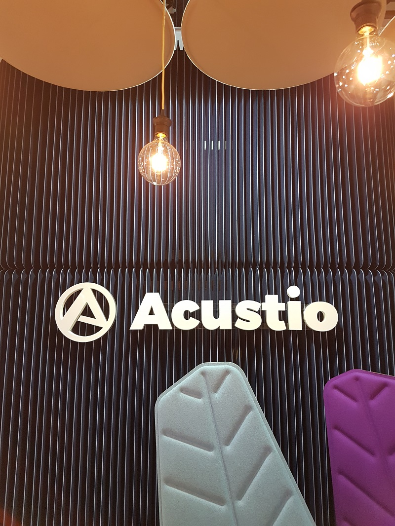 Acustio's solutions are elegant and functional