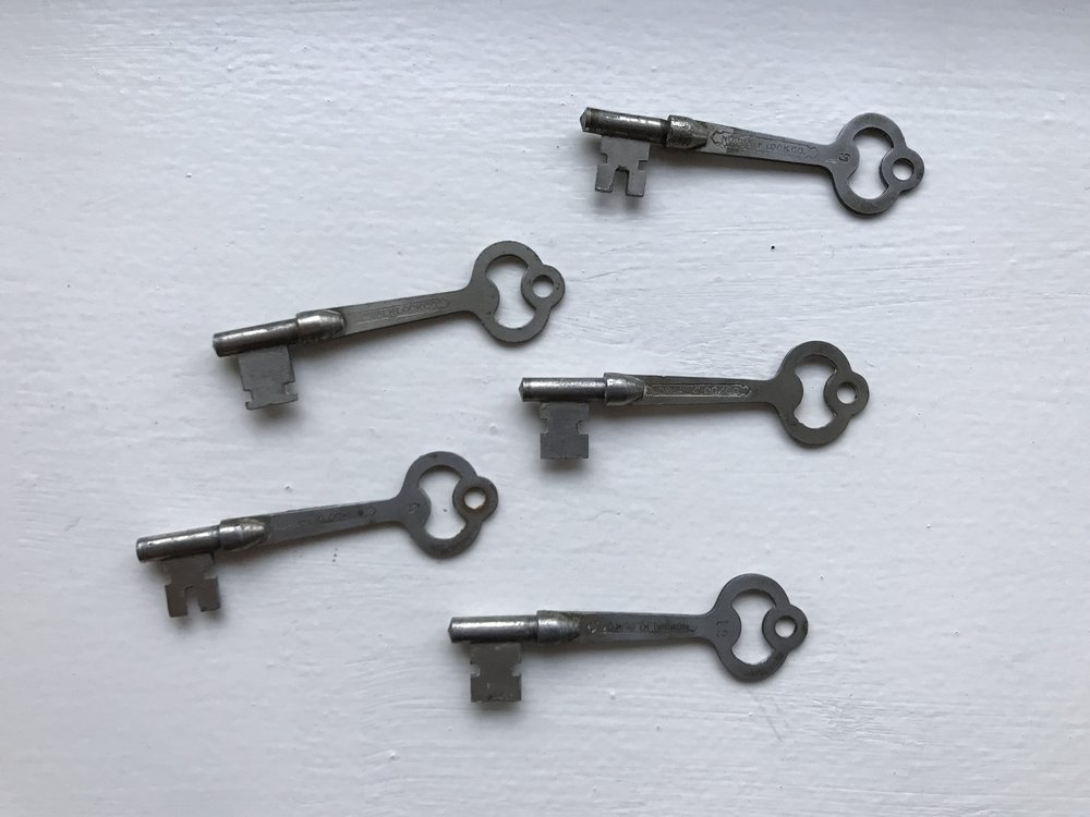 Original Keys To The Post Cottage