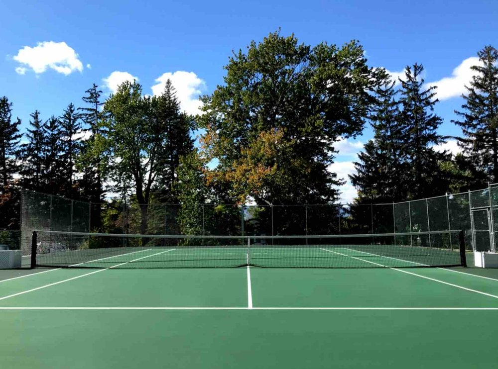 Play A Set Of Tennis On Our Private Court -