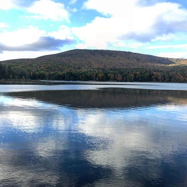 Beautiful hike up to The Catskill Mountain House 20 minutes away from @thepostcottage.