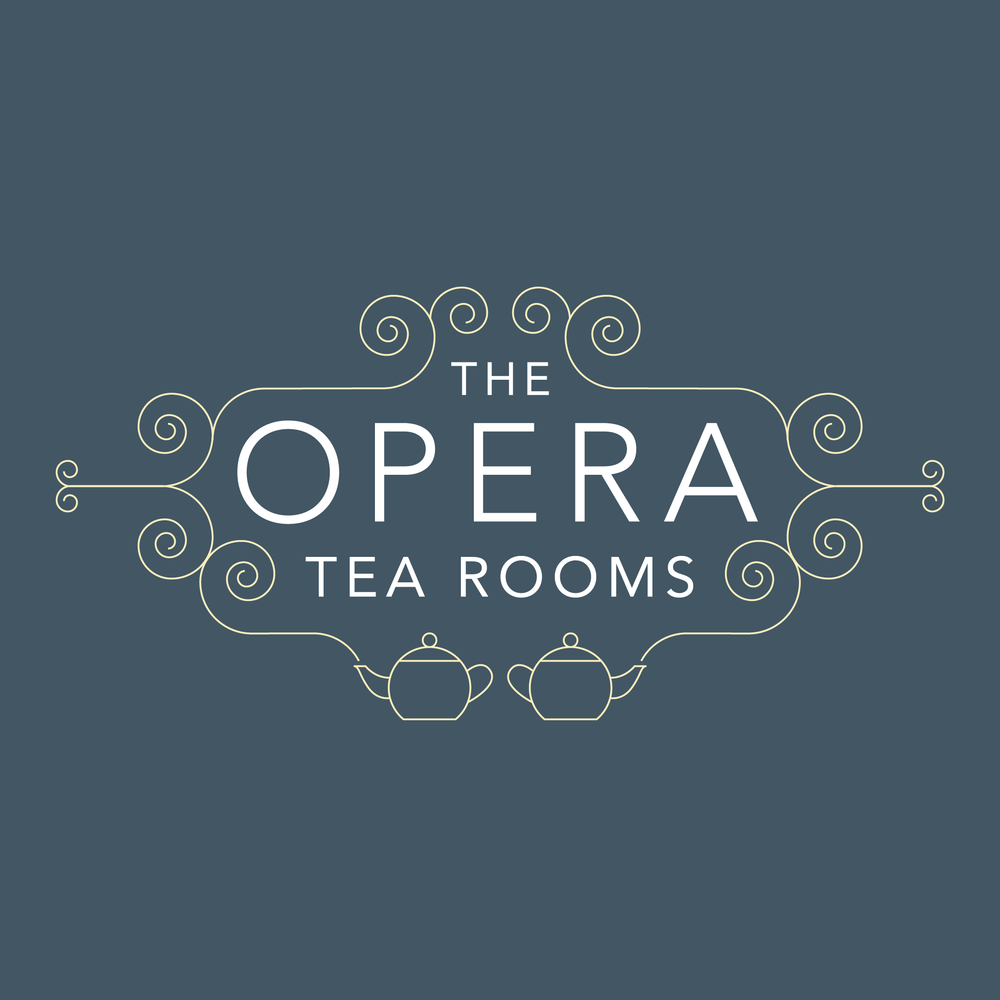 OPERA TEA ROOMS BRANDING