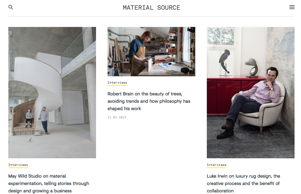 We were recently interviewed by Material Source Journal, we talk about our creative practice, the materials we use and the May Wild Studio journey so far! Read the interview here:   https://www.materialsource.co.uk/interviews/may-wild-studio/