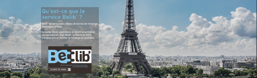 Le passe Belib - Youngo vous accompagne dans votre transition, notamment sur le système de borne de recharge en île de France. Déjà 90 bornes rapide dans Paris-intra.