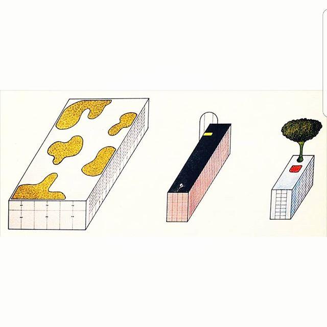 "Archizoom's ""La Superficie Neutra"" habitable cupboards - 1972"