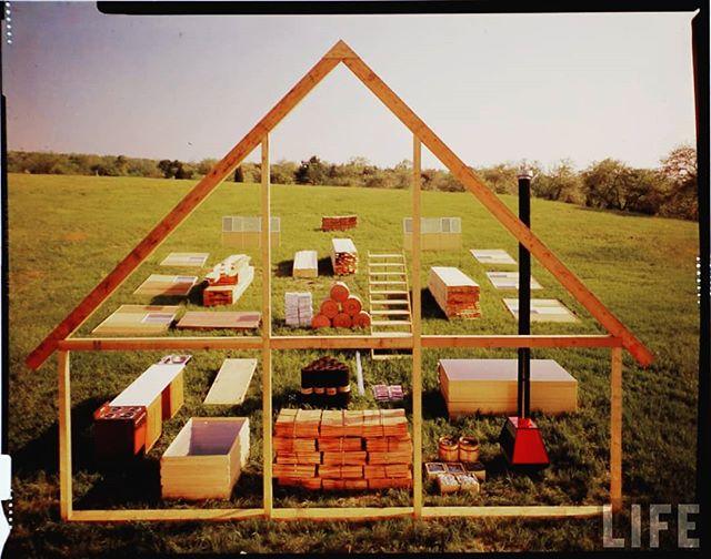 """A Ready-Made Risom"" - Jens Risom's Prefab House, Block Island, 1967"