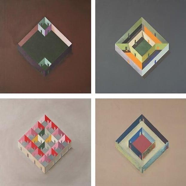 """Pezo von Ellrichshaussen's """"House Studies"""" - 2009"""