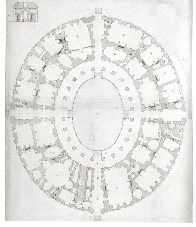 Sebastiano Serlio - House For a Rich Man - 1611