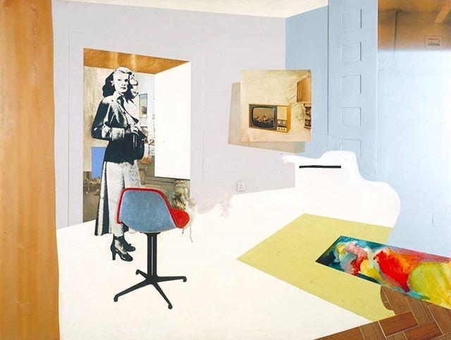 """Richard Hamilton's """"Interior II"""" - 1964"""