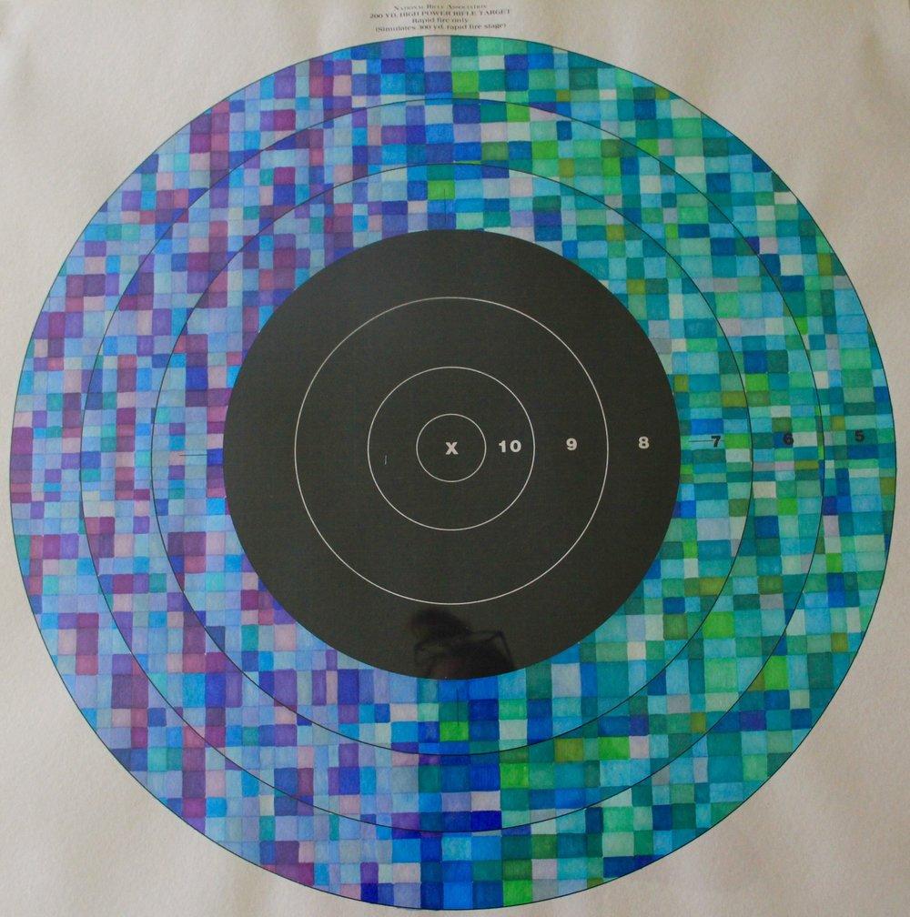 Target practice VIii - primsacolor, 28x28