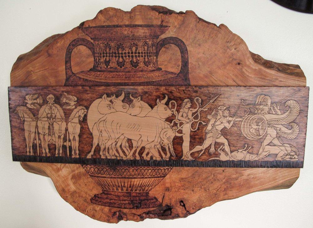 Herakles Steals Geryon's Oxen  2012