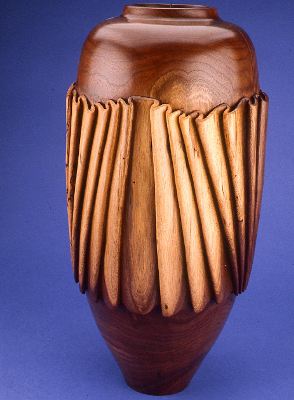 Linenfold Vase #2, 1989