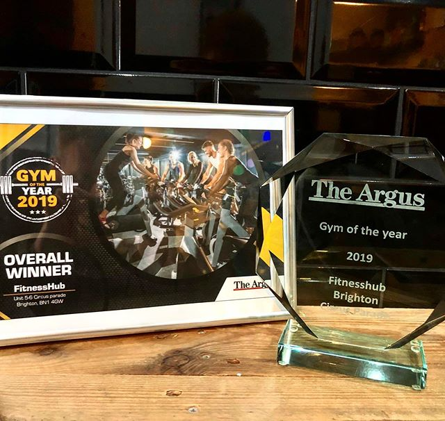 🏆 GYM OF THE YEAR 2019 🏆  Thanks to everyone that voted, we are delighted to have been awarded this title of 'Sussex Gym Of The Year 2019' as voted for by the The Argus and readers.  2019 Winners 🥇 2018 Runners Up 🥈 👏🏻👏🏻👏🏻 Thanks to everyone that supports and uses our gym, the Personal Trainers, therapists, members, clients and more #brighton #brightongym
