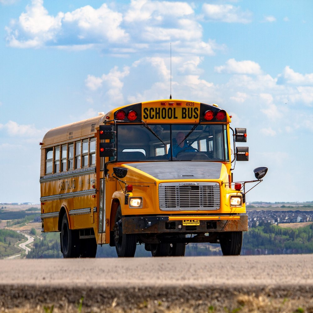 Bus transportation begins - Beginning September 2019, bus transportation for day school students to and from Kelowna and Okanagan Falls will be available!