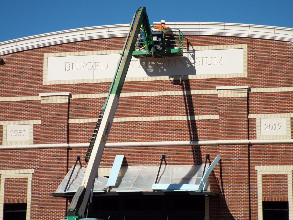 Finishing touches being done in hopes to open the facilty soon.  Photo Credit: Alicia Couch Payne