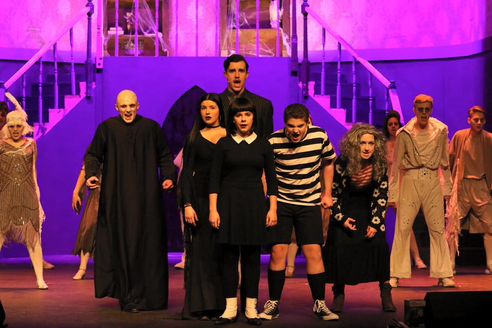 The BHS Wolfpack Players wow crowds with their performance of the musical  The Addams Family.  Photo courtesy David Hanks