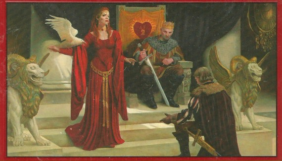 Original Cover illustration by Stephen Youll for A Clash of Kings