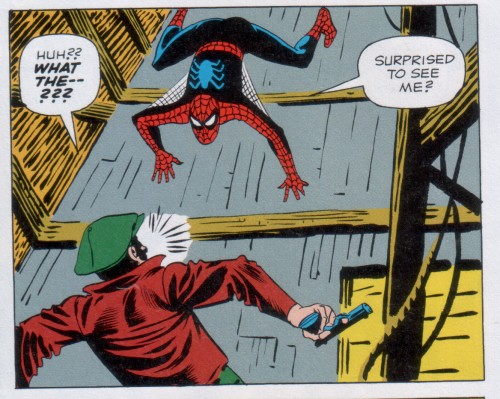 Art by Steve Ditko; all subsequent art by Gil Kane