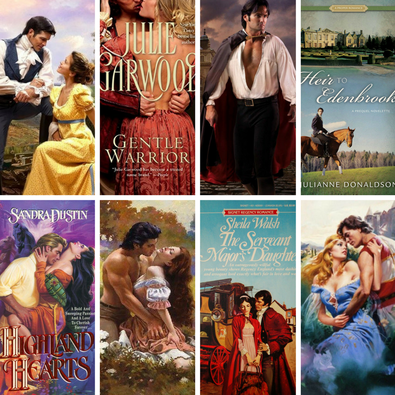 Regency Romance covers collage.png