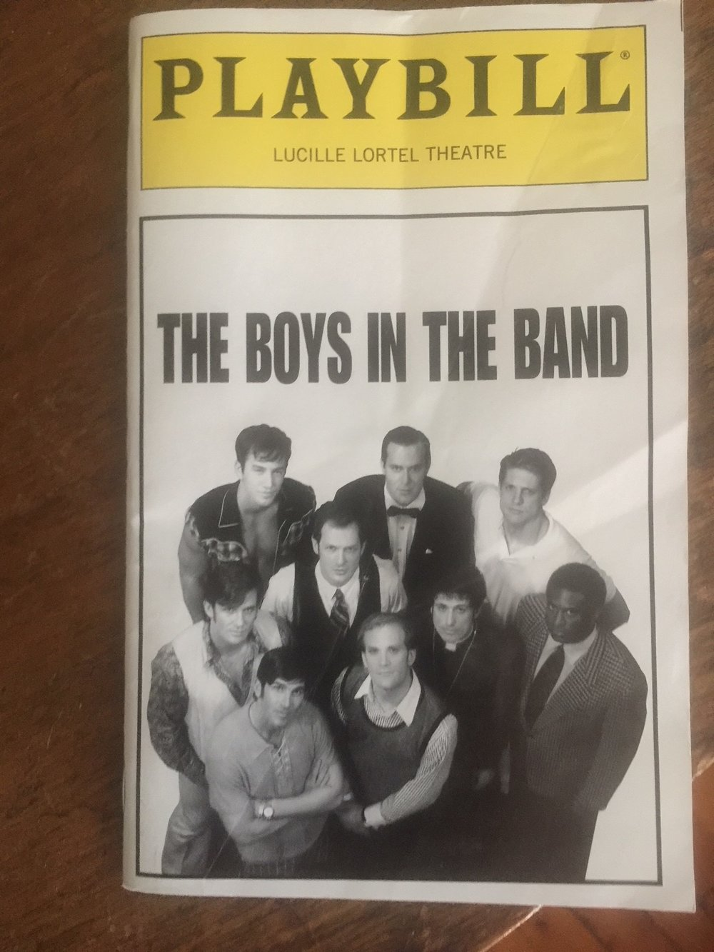 1996, off-Broadway