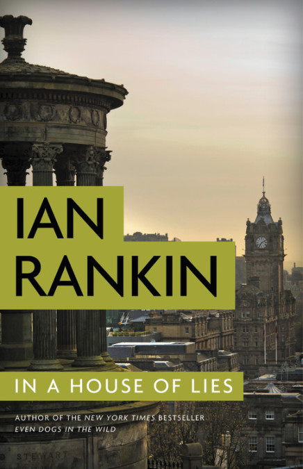 In a House of Lies by Ian Rankin book cover
