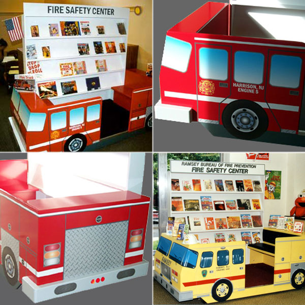 Library Fire Safety Centers