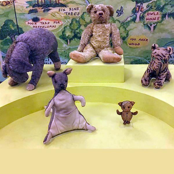 Winnie the Pooh exhibtion