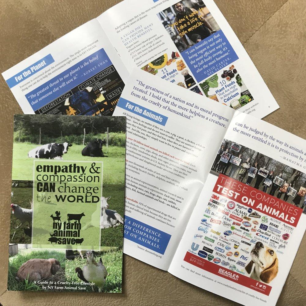 NY Farm Animal Save 16-pg pamphlet