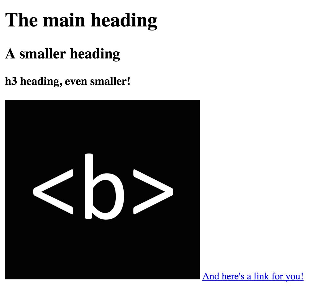 HTML bad design