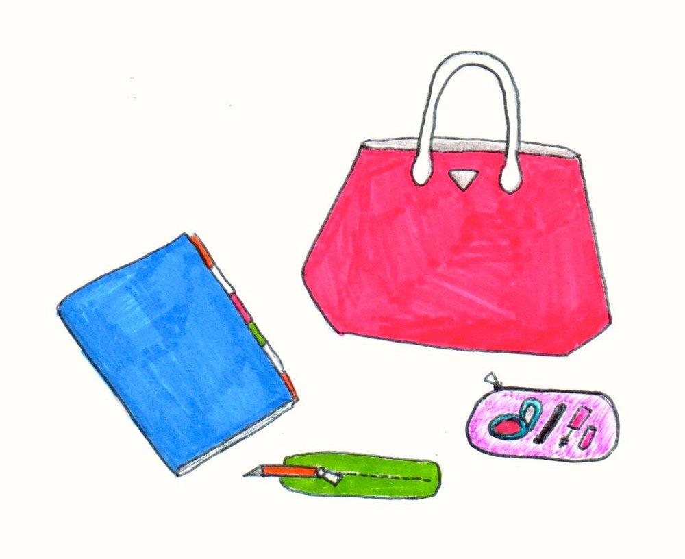 gem blonde dictionary handbag application example