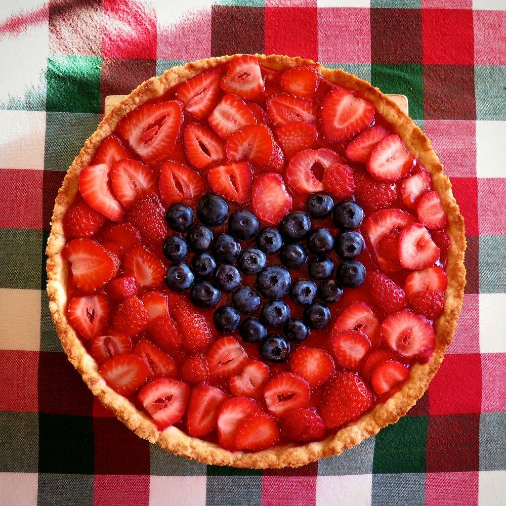 Coding blonde strawberry pie