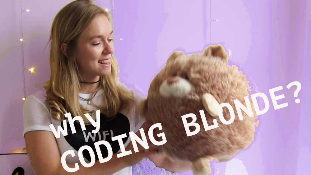 why coding blonde