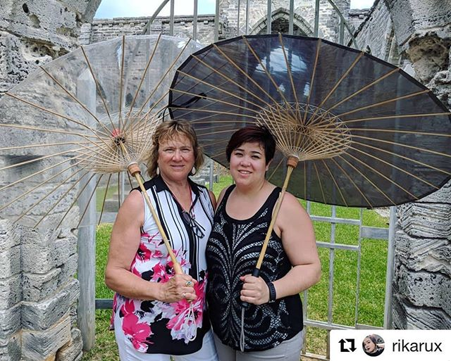 We love seeing our beautiful BRELLIERS enjoying the sun while protecting themselves from harmful UV rays with our BRELLI Umbrellas!  #Repost @rikarux ・・・ Enjoyed the Unfinished Church today in Saint George. Wouldn't have survived as well in the sun if it weren't for our Brellies from @thebrelli !! Getting lots of questions and comments on them! ⛱️ #brelli #grey #clear #unfinishedchurch #bermuda #motherdaughter #umbrella #parasol