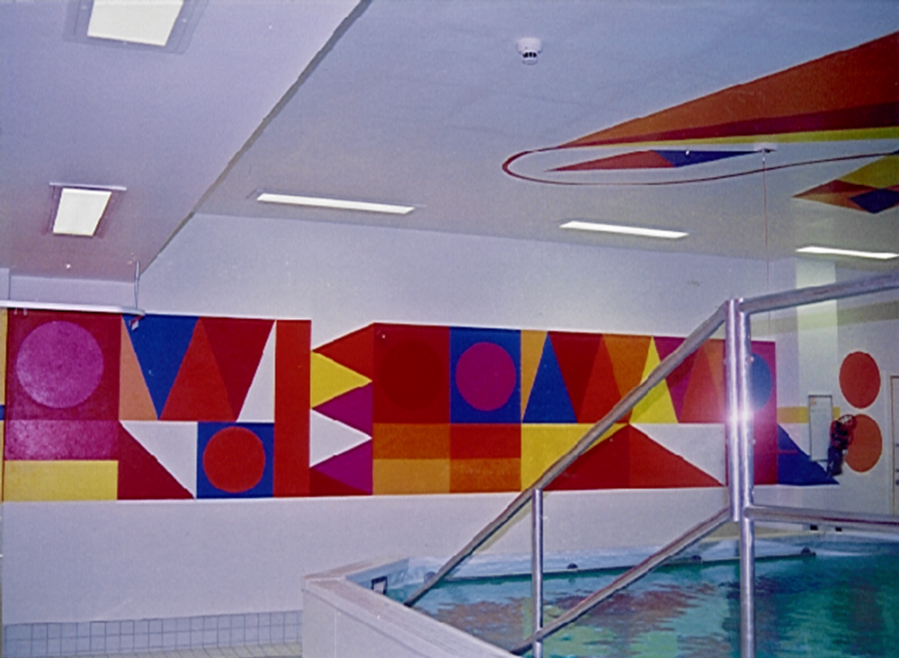 Hydrotherapy Unit, Chelsea and Westminster Hospital, London