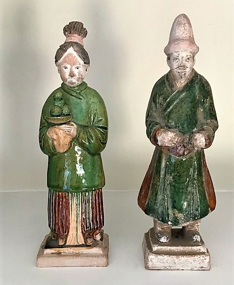 Ming Dynasty figures c. A.D 1368 - 1643