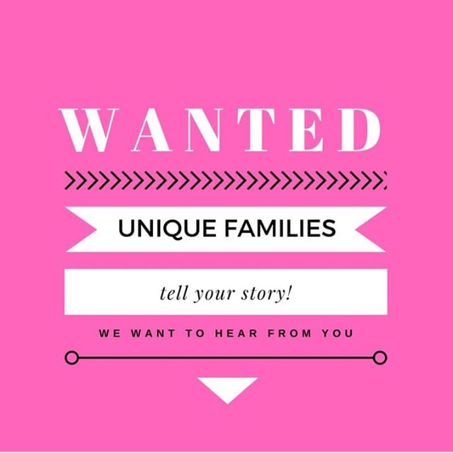 We want YOU to share the story of your unique family. Blended, divorced, stepfamily, LGBT, military, etc. - we want it all! DM us if you are interested!⠀ •⠀ •⠀ •⠀ •⠀ #feature #featuredstories #diversity #familydiversity #uniquefamily #diversefamily #blendedfamily #happyfamily #stepmom #stepdad #singledad #singlemom #singleparent #coparenting #twomoms #twodads #lgbtfamily #lgbtqfamily #lgbtparents #adoption #adoptionrocks #adoptionstories