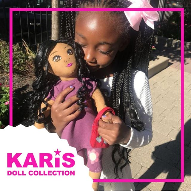 Kayla is ready to be loved by your little girl! Aside from being a huggable cloth doll, she comes with an interactive doodle book to teach your daughter about blended family dynamics.⠀ •⠀ •⠀ •⠀ •⠀ •⠀ #karisdolls #grace #diversedolls #uniquedolls #karisdolls #grace #blendedfamily #blendedfamilies #blended #blendedfamilylife #doll #childrensdoll #newdoll #stronggirls #diversedolls #divorcesupport #coparenting #coparents  #mommyblogger  #singlemom #singledad #stepmom #stepdad #stepparenting #stepparents #toys #uniquefamily #diversefamily #mixedfamily #bonusfamily
