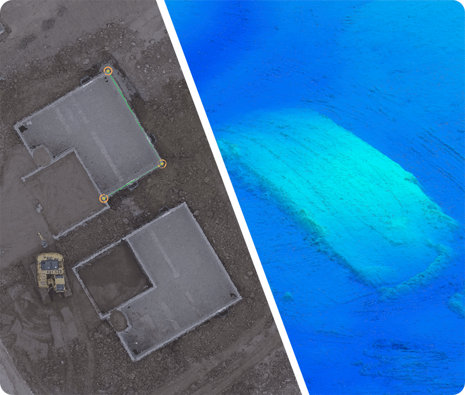 Building Information Modeling through the use of drones creates huge value for project managers and inspectors. Models are sharable online and can be exported into many different sources.