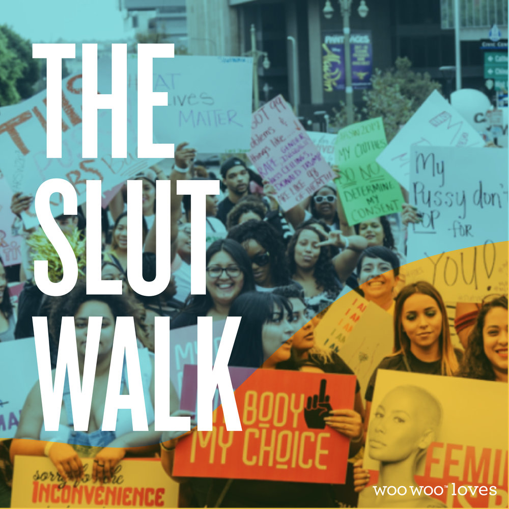 THE AMBER ROSE SLUTWALK - We're all about taking power away from derogatory labels and we salute Amber Rose for helping put an end to slut shaming!