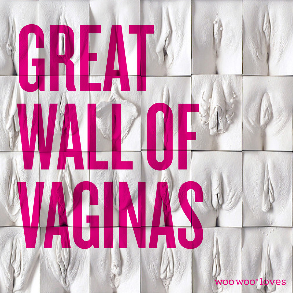 THE GREAT WALL OF VAGINAS - If you haven't seen Jamie McCartney's Great Wall of Vaginas yet then here it is in its glory! A nice reminder that vaginas come in all shapes and sizes.