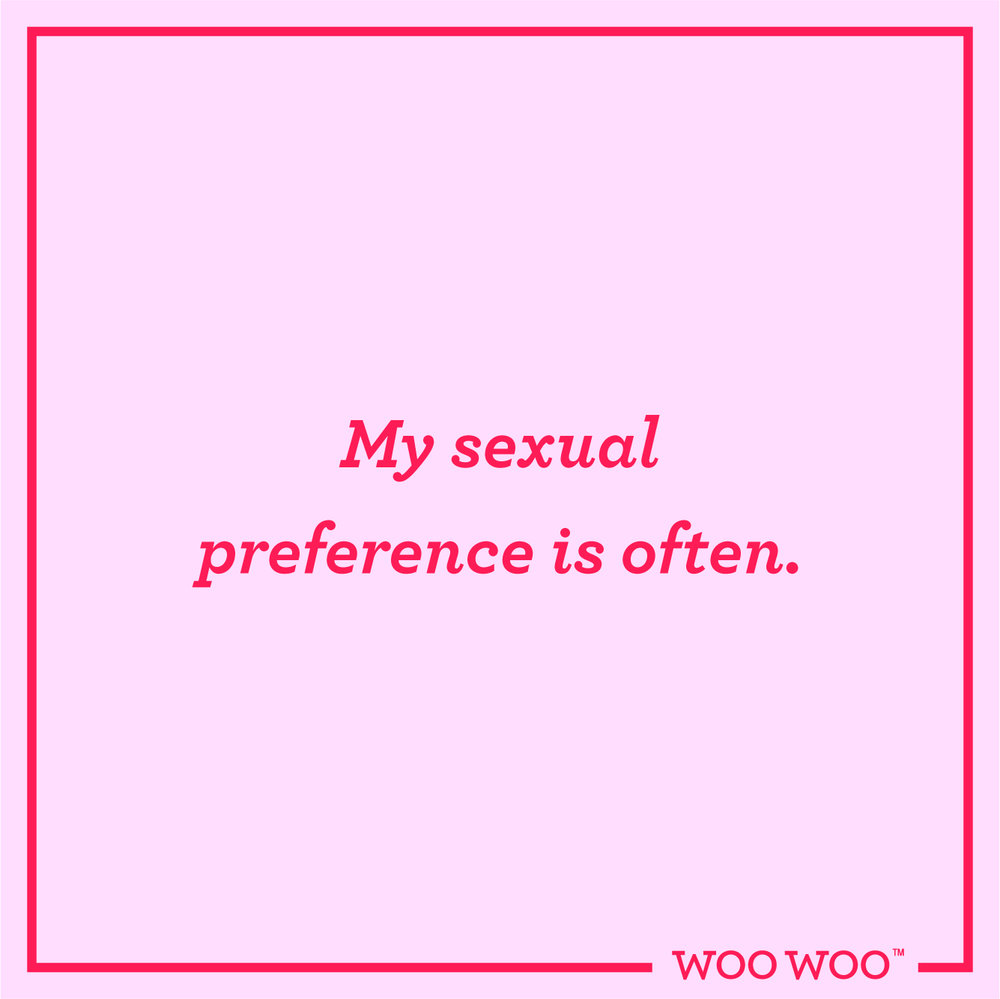 WooWoo_Fun_Friday_Quote_Sexual_Preference_Often