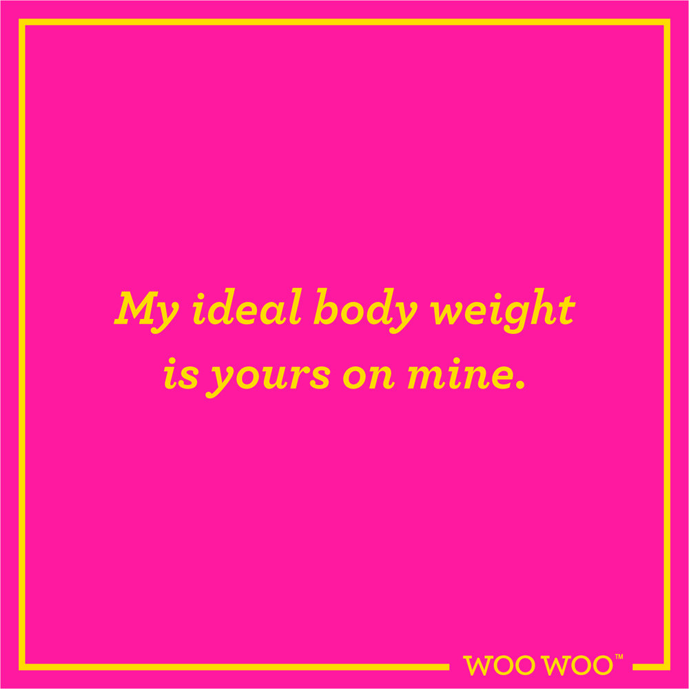 WooWoo_Fun_Friday_Quote_Ideal_Body_Weight