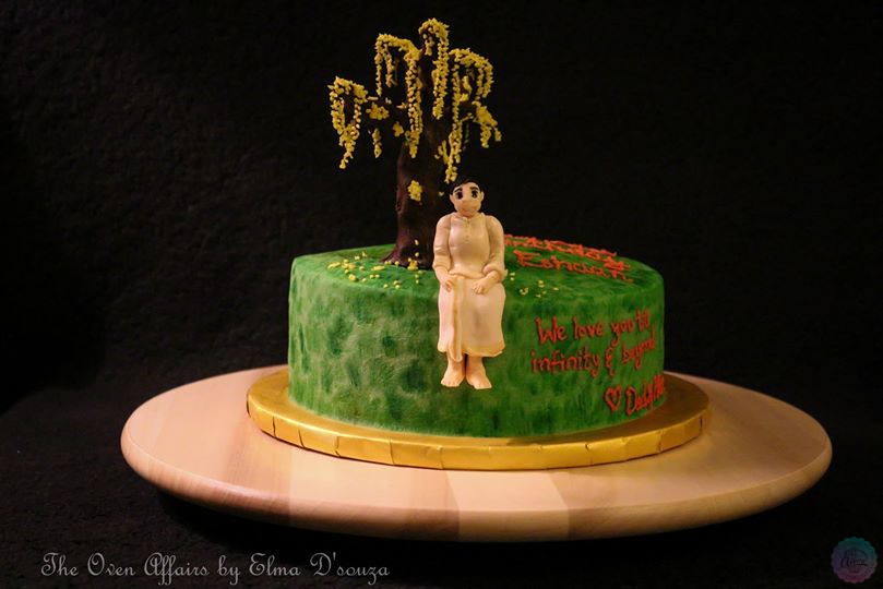 Kerala Tradition Theme Cake Birthday Edition The Oven Affairs By Elma Dsouza