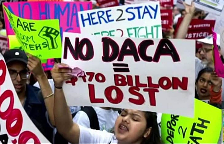 AMERICA JUST GOT DACA    DACA is the 'Deferred Actions for Childhood Arrivals program'. In June 2012, Obama launched this controversial program to offer reprieve from children who came to the US as children. This entailed several benefits including avoiding deportation to the countries they came from. For instance...  Vithusan Kuganathan